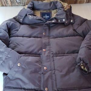 Men's old Navy gray puffer Jacket sz S